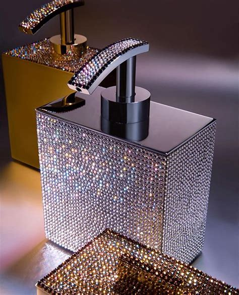 swarovski soap dispenser bling pinterest follow me