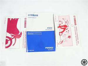 New Oem Yamaha Pw50 Manual Pw 50 Guides Owners Service
