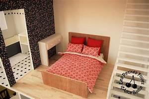 Maison De Barbie 6 Les Meubles Chambres Et Salle De