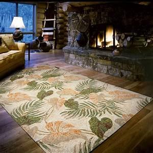 panama palms indoor outdoor rug 8 x 10