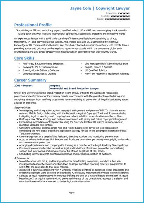 lawyer cv  writing guide land  dream legal job