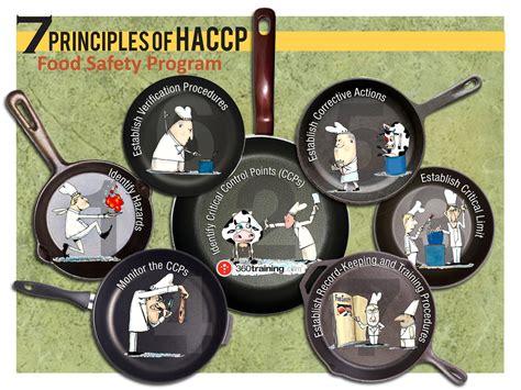 haccp cuisine 7 principles of haccp visual ly