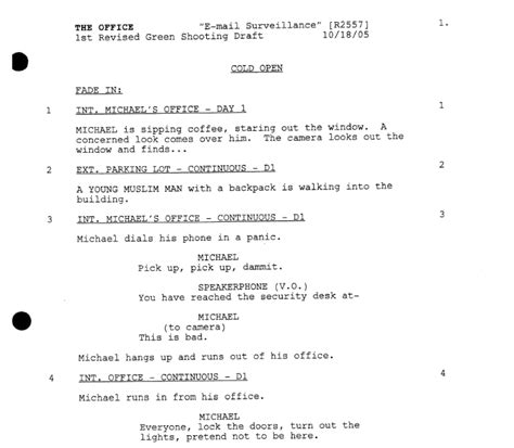 Tv Script Template For Pages by A Simple Guide To Formatting Television Scripts Screencraft