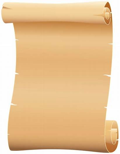 Paper Scrolled Clipart Transparent Scrolls Yopriceville