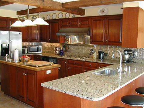 aluminum backsplash kitchen photos of kitchens with metal backsplashes aluminum copper