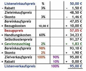 Verkaufspreis Berechnen : rabatt und skonto berechnen bungen ~ Themetempest.com Abrechnung