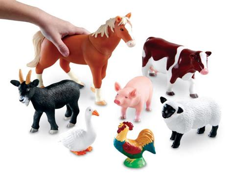 Shop by Category :: Small World :: Jumbo Farm Animals