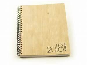 Agenda 2018 Semainier : agenda semainier 2018 en bois de cerisier format a5 absolu wood ~ Teatrodelosmanantiales.com Idées de Décoration