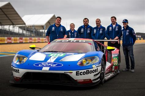le mans org team presentation lm gte pro ford gt 66 67 68 and 69 aco auto