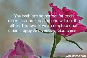 Both Happy Anniversary Wishes You a God