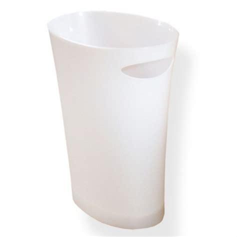 poubelle de bureau design corbeille à papier poubelle de bureau blanche en vente