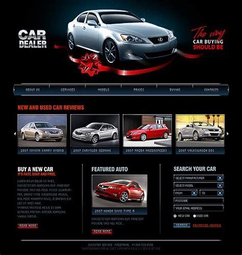 Car Designer Website car dealer templates auto dealer designs auto dealer