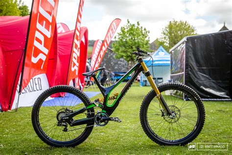 gold forks and ews prototypes ohlins downhill fork pinkbike