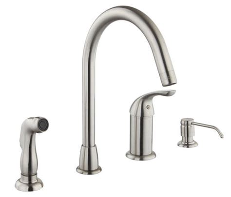 tuscany elijah single handle kitchen faucet at menards 174