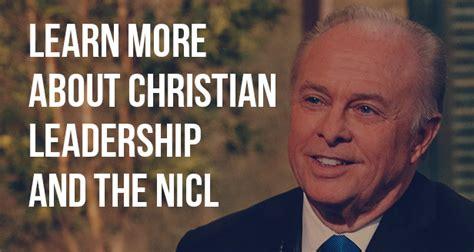 national institute  christian leadership