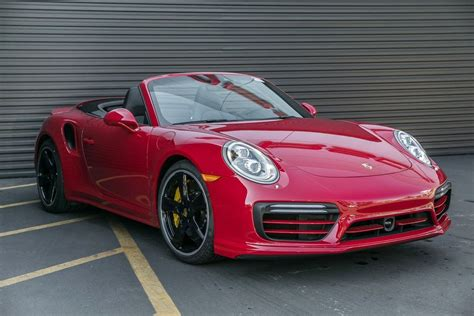 New 2018 Porsche 911 Turbo 2D Cabriolet in Torrance