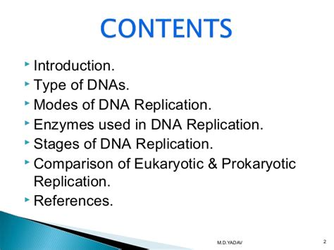 Dna Replication And Types Of Dna