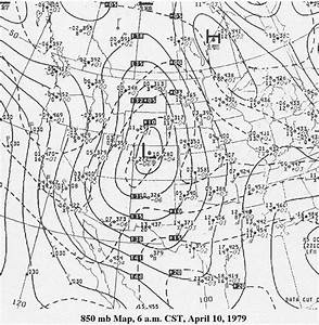 Maps  Figures And Diagrams Of The Red River Tornado Outbreak Of 10 April 1979