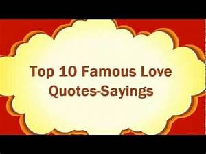 Love Quotes - T... Famous Lovers Quotes