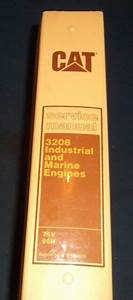 Cat Caterpillar 3208 Service Shop Repair Manual Engine Industrial  Marine 75v 90n For Sale Online