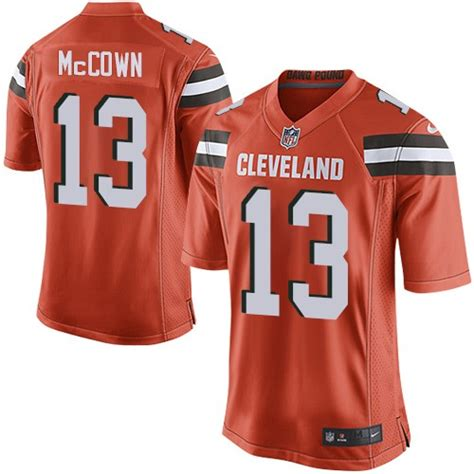 nfl cleveland browns limited orange alternate nike jersey