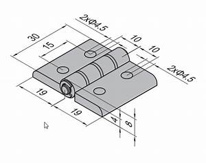 Thru Hole Engineering Drawing