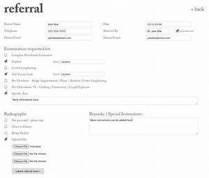 Medical referral templatesecure referral software for Doctor referral form template