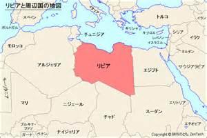 リビア:リビアと周辺国の地図 - 旅行の ...