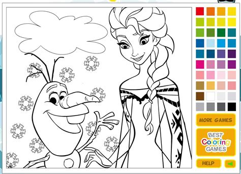 disney princess coloring pages games bubakidscom