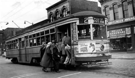 Boat Rides In Cleveland by Trolley Streetcar History Ohio Cleveland Last Run