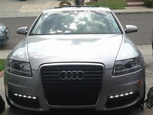 Audi S6 Bumper Cover  Led Drl U0026 39 S  Grill And Lower Grills