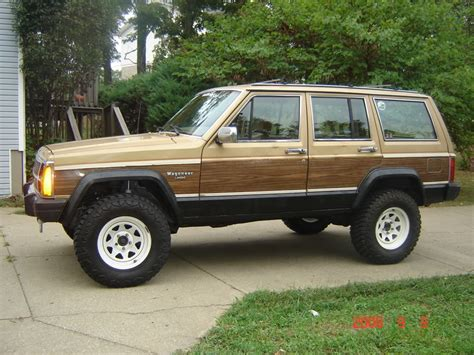 wood panel jeep cherokee xj wagoneer exterior parts jeep cherokee forum