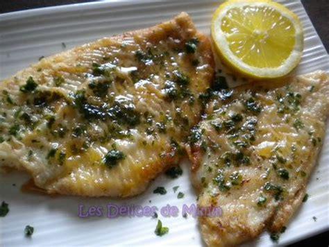 comment cuisiner du saumon surgel filets de plie à la meunière par mimm