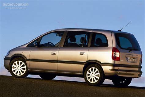 Opel Zafira Specs by Opel Zafira Specs Photos 2003 2004 2005 Autoevolution