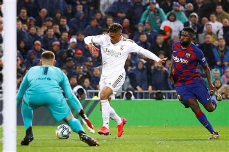 Football: Real Madrid defeat Barcelona in Clasico to ...
