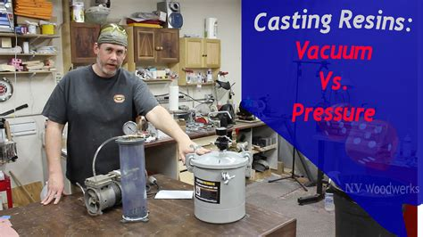 Vacuum Vs Pressure by Can I Use Vacuum Instead Of A Pressure Pot To Cast Resins
