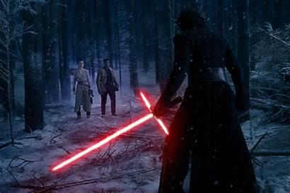 Kylo Ren Wars Rey Awakens Lightsaber Force
