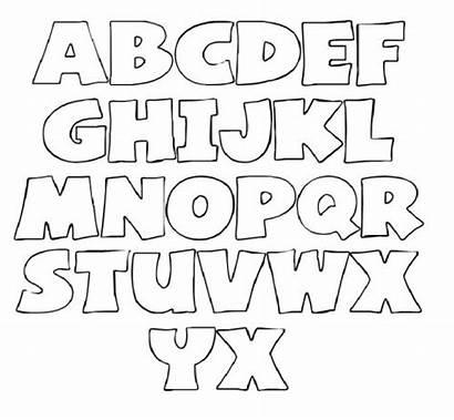Letter Printable Letters Stencils Alphabet Stencil Templates