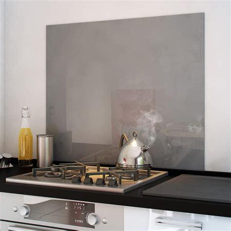 avis cuisines lapeyre crédence fond de hotte verre brillant gris cuisissimo