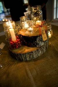 Round Reception Table Reception Mason Jars Filled With Berries Jeni Christmas