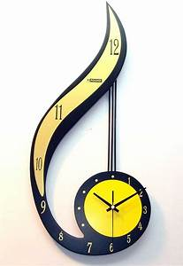 decorative, fancy, wall, clocks, , u2013, homesfeed