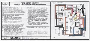 Mustang 5 0l Emissions Decal  1984  E4ae-9c485-ady