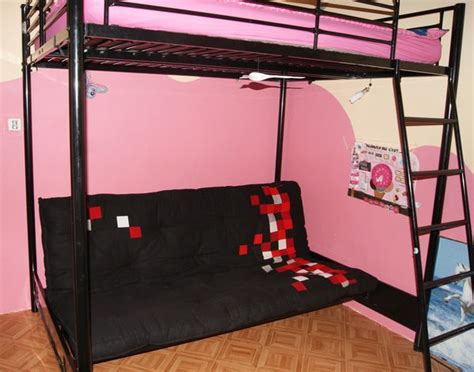 lit mezzanine canap lit mezzanine 2 places avec canap rock lit mezzanine mtal