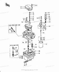Kawasaki Motorcycle 1979 Oem Parts Diagram For Carburetor