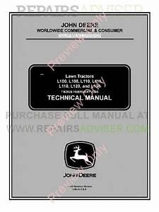 John Deere L100  L108  L110  L111  L118  L120 And L130