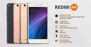 Xiaomi Redmi 4a Features
