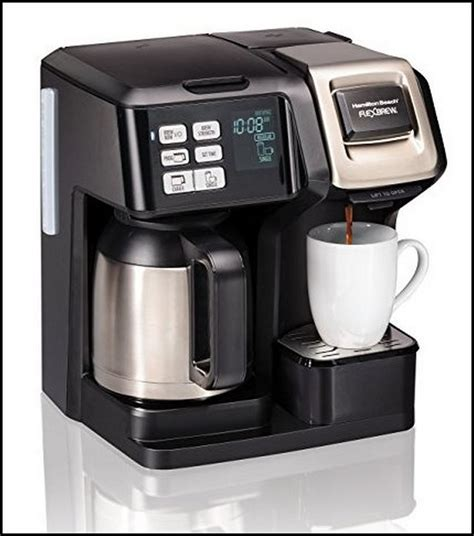 To some extent it also saves money. Single Serve Coffee Maker With Thermal Carafe