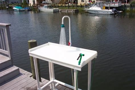 Dock Fish Cleaning Table With Sink by Filet A Fish Cleaning Table Shop Fishing Tackleshop