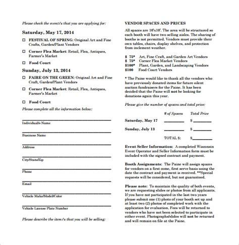 vendor contract template    documents