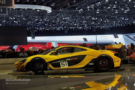 Mclaren P1 Gtr Race Car Debuts At The Geneva Motor Show